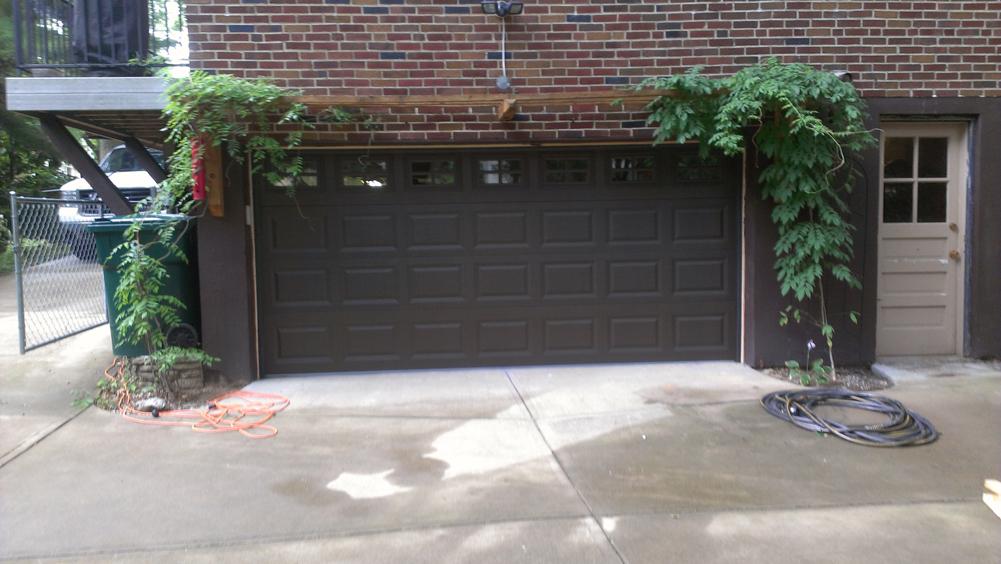 Short Panel Steel Garage Door In Cincinnati Don Murphy