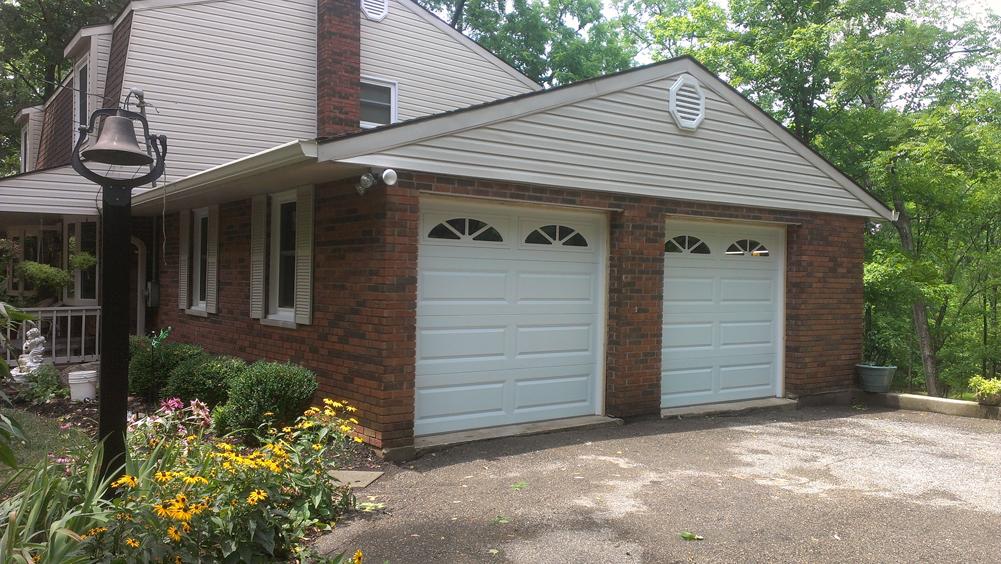 Long Panel Steel Garage Door In Cincinnati Don Murphy