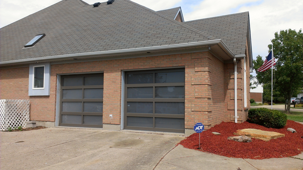 Aluminum full view door in cincinnati don murphy 513 for Murphy garage doors