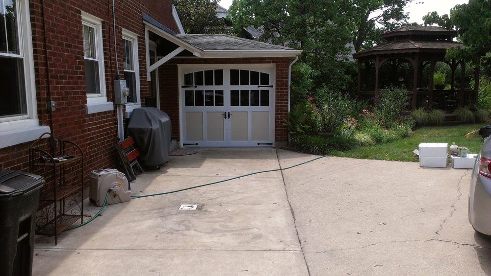 Overlay Steel Carriage House Door In Cincinnati Don