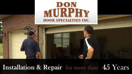 Don Murphy Garage Doors Cincinnati 513 771 6087