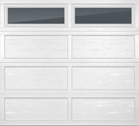 Recessed long panel sandwich door in cincinnati don for Murphy garage doors